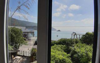 Гостиница Casa da Adoa - вид из окна номера