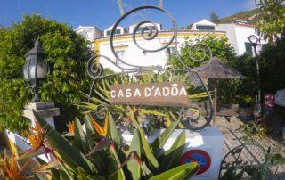 Гостиница Casa da Adoa - терраса