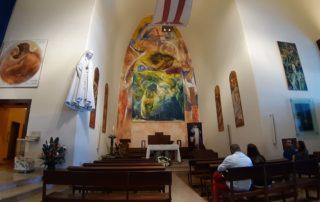 Церковь внутри статуи