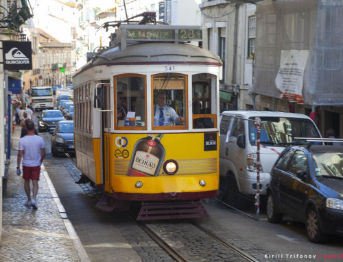 Экскурсия по Лиссабону на 28 трамвае, бюджет путешествия