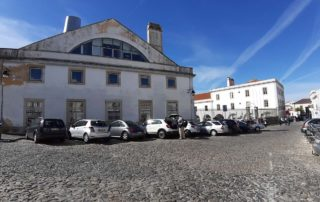 Гостиница Peacock-House Evora - ближайшая бесплатная парковка