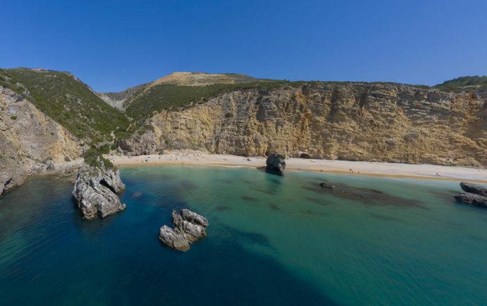 Пляж Praia Ribeira do Cavalo