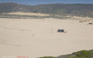 Бар на пляже Praia da Bordeira