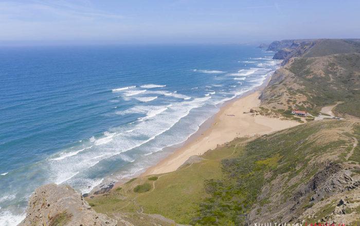 Пляж Praia do Cordoama