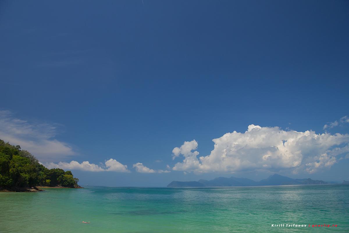 Остров Лангкави - пляж Пасир Тенгорак