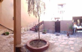 Внутренний двор в Chez Brahim