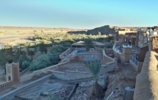 Вид с крыши Chez Brahim