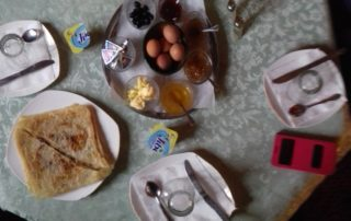 Риад Chez Tonton - завтрак