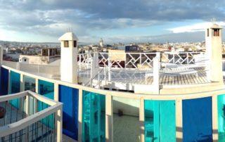 Терраса на крыше риада Daranur