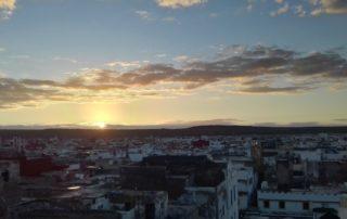 Вид с крыши риада Daranur