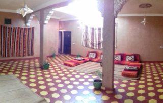 Внутренний двор в Kasbah Valentine