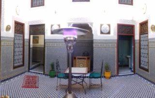 Внутренний двор в Dar Fes Tresor