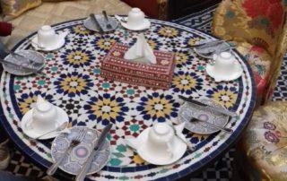 Завтрак в Dar Fes Tresor