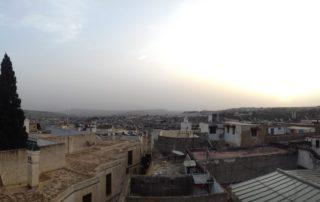 Вид с крыши Dar Fes Tresor