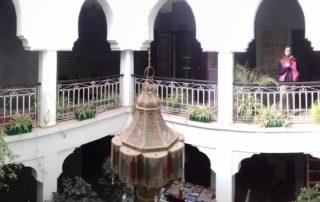 Внутренний двор в Riad Dar Alamane