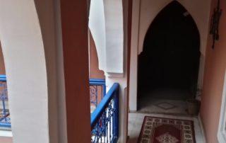 Внутренний двор в Riad Jakoura