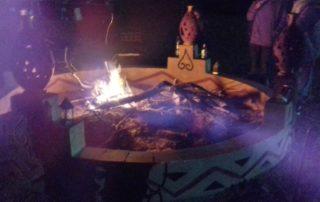 Кемпинг Campement de LEHOUDI в дюнах Erg Lehoudi
