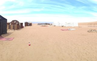 Кемпинг Dar Raya Desert Camp в дюнах Erg Chigaga