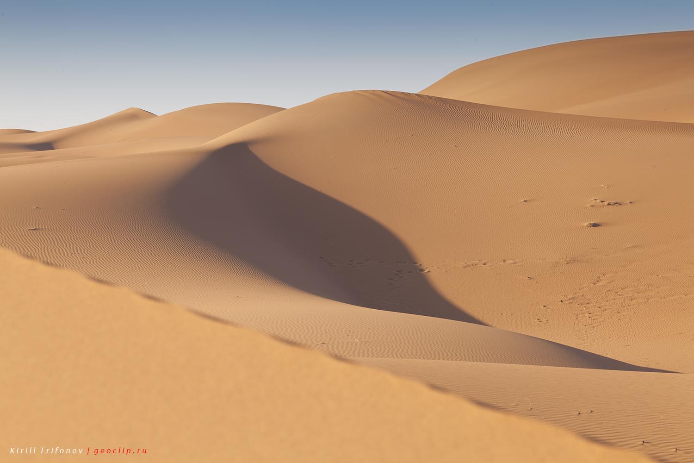 Пустыня Сахара в Мхамид-Эль-Гизлане