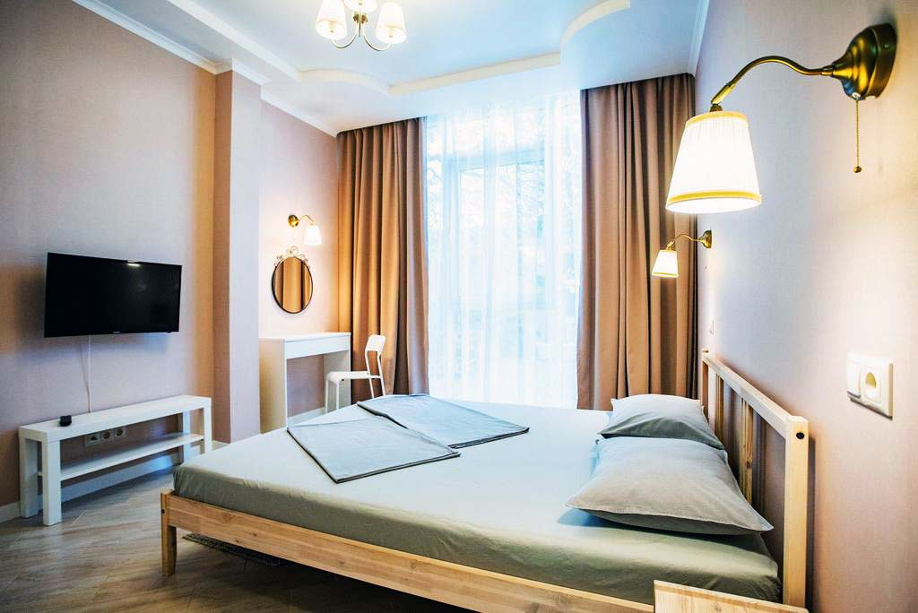 Sleep&wake guest house