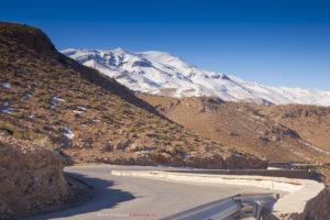 Перевал в горах Атлас между Фесом и Мерзугой