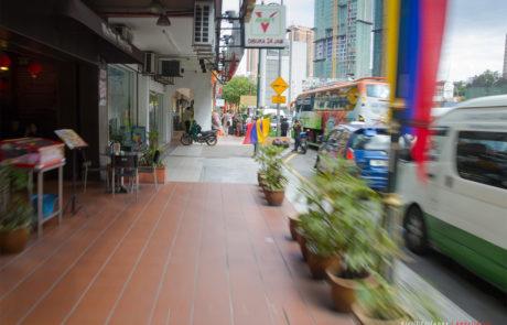 Улица Jalan Pudu - напротив гостиницы Ancasa Express