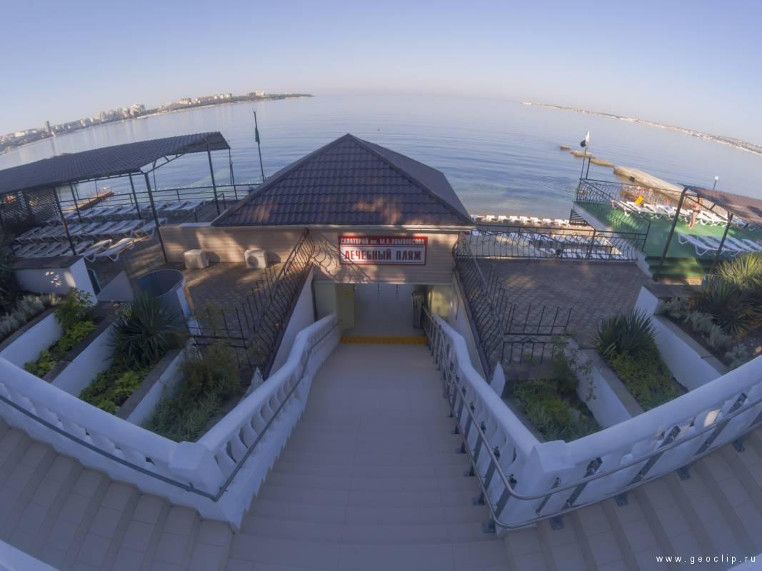 Пляж санатория имени «Ломоносова»