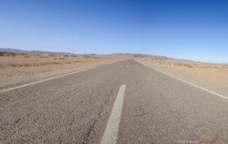 Дорога из Мерзуги в Айт-Бен-Хадду