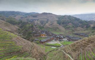 Рисовые терассы Лунцзи (龙脊)
