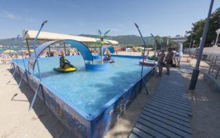 Песчаный пляж 2K20 - аквадром для детей