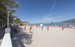Песчаный пляж 2K20 - волейбольная площадка