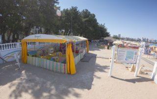 Детский уголок - Центральный Городской песчаный пляж