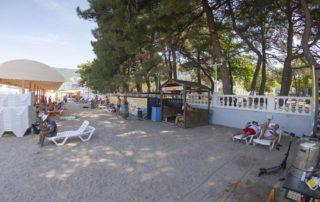 Курилка - Центральный Городской песчаный пляж
