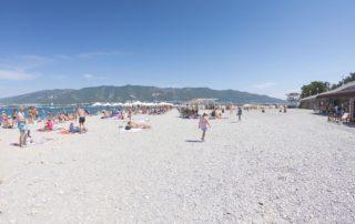 """Галечный пляж """"Нива"""""""