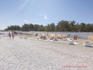 """Галечный пляж """"Нива"""" - VIP зона"""