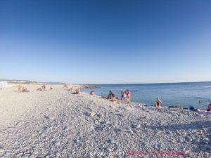 Тонкий мыс - галечный пляж Торик - напротив ЖК