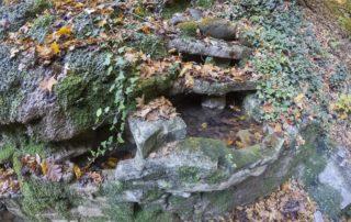 Тропа к водопаду Хрустальный