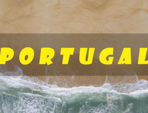 Португалия с высоты птичьего полета — видео