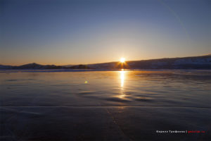 Байкал - Малое Море в районе ледовой переправы