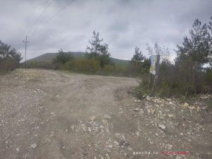 Дорога к РИО - поворот к спуску