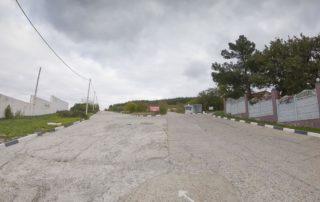 Начало маршрута к RIO - парковка на улице Черноморская