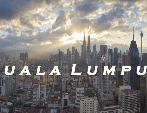 Куала Лумпур — таймлапс в движении