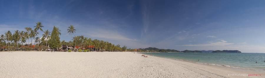 Пляж-Ченанг-на-острове-Лангкави